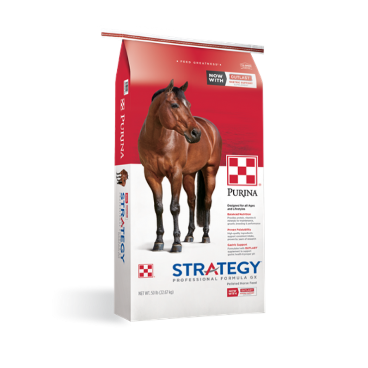 Purina StrategyProfessional Formula GX Horse Feed