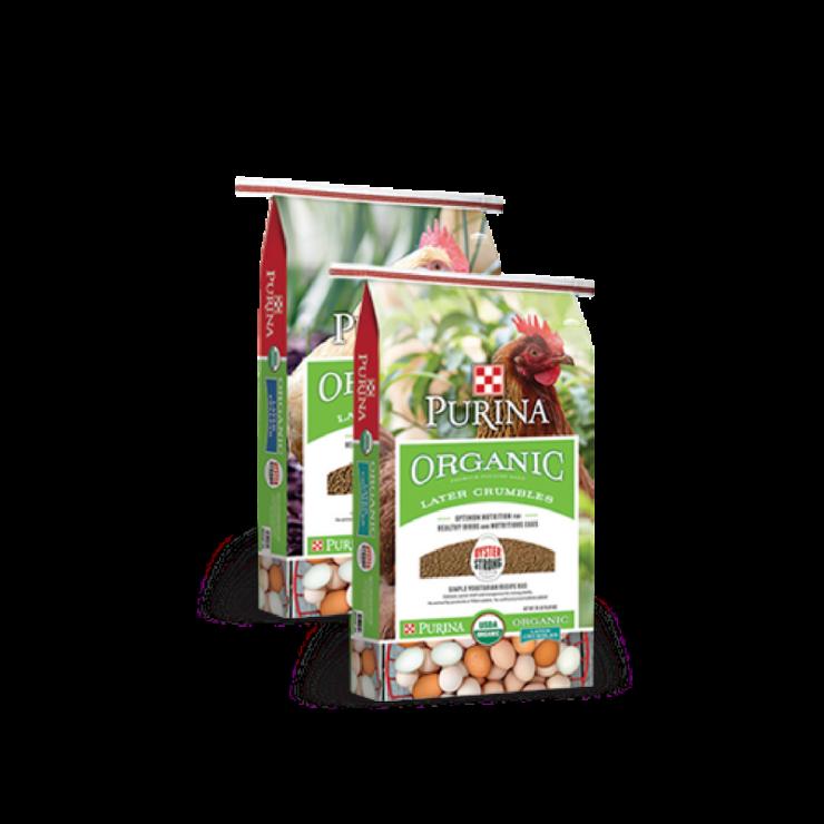 Purina Organic Layer Crumbles & Pellets