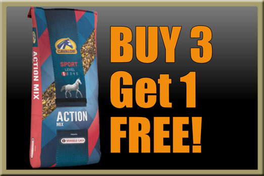 Cavalor Action Mix Horse Feed Sale! February 2017