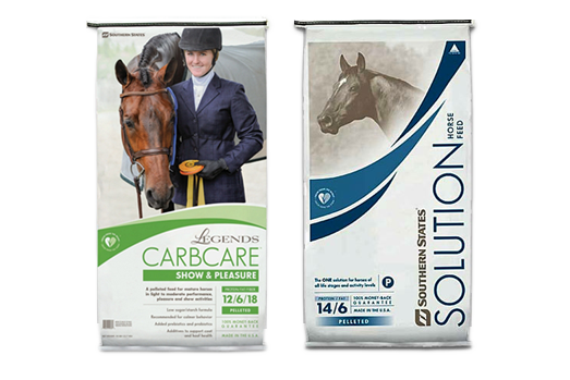 Legends CarbCare & Southern States Solutions Horse Feed Specials at North FultonFeed & Seed