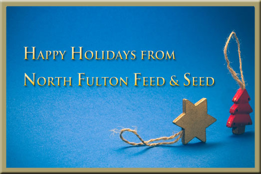 Happy Holidays from North Fulton Feed & Seed in Alpharetta, GA