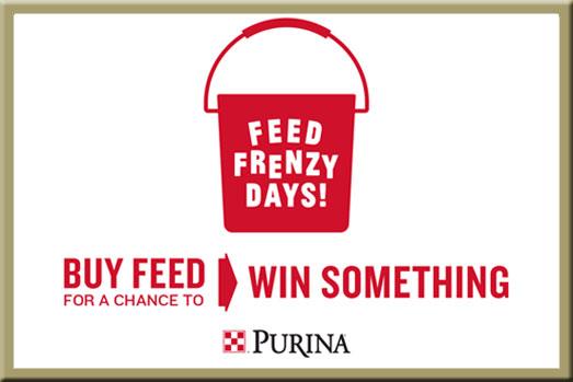 Purina Feed Frenzy Days - Win at North Fulton Feed & Seed in Alpharetta, GA