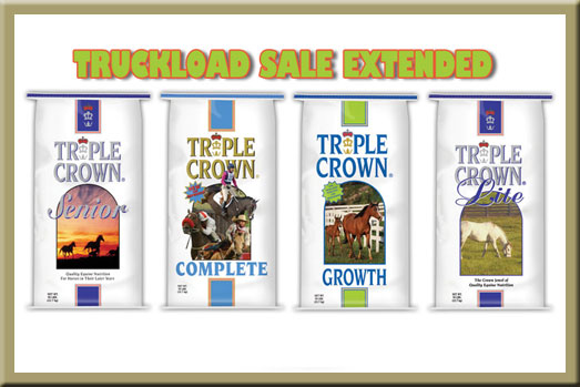 Triple Crown Feed Sale - Extended!
