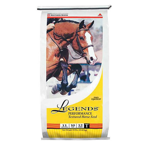 Legends Performance Textured Horse Feed