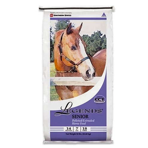 Legends Senior Pelleted Horse Feed