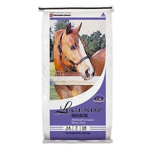 Legends Senior Pelleted Horse Feed
