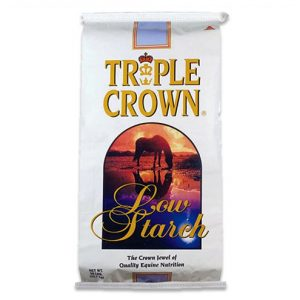 Triple Crown Low Starch Pelleted Horse Feed