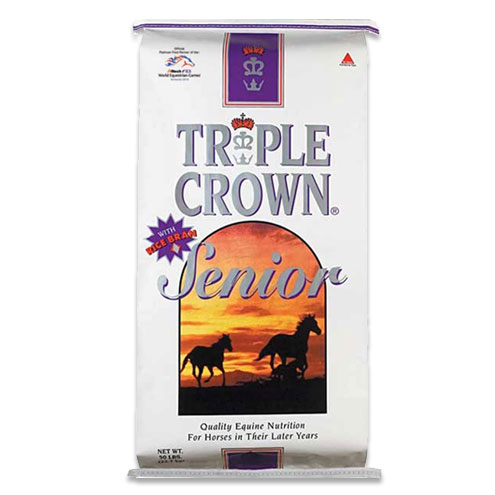 Triple Crown Senior Formula Textured Horse Feed