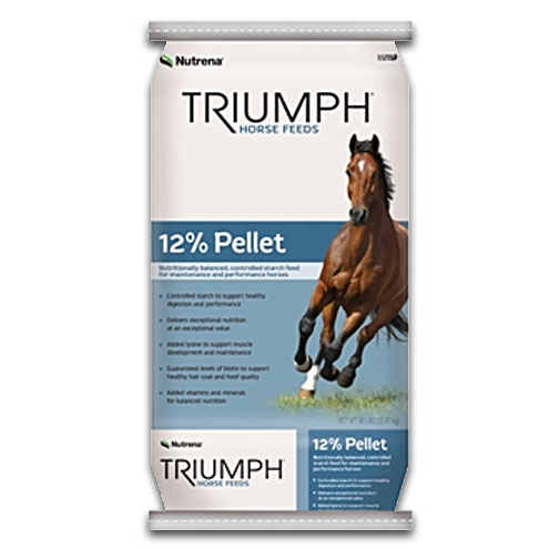 Triumph Horse 12% Pelleted Feed