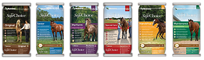 SafeChoice Horse Feed Product Line