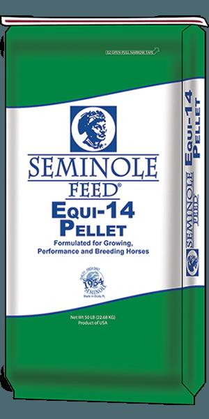 Seminole Equi-14 Horse Feed - North Fulton Feed & Seed, Georgia