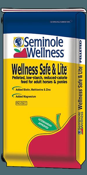 Seminole Wellness Safe & Lite Horse Feed - North Fulton Feed & Seed, Georgia