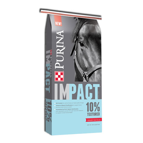 Purina Impact 10% Textured Horse Feed