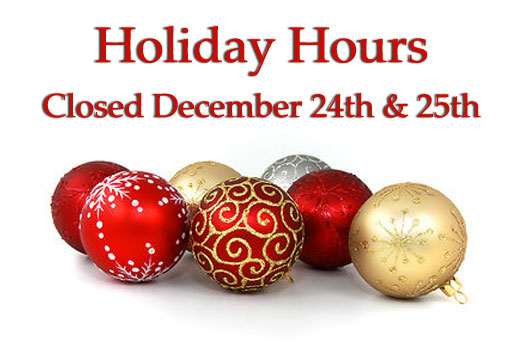 Holiday Hours at North Fulton Feed & Seed in Alpharetta, GA