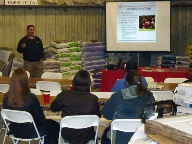 Horse Owners Workshop at North Fulton Feed & Seed in Alpharetta.