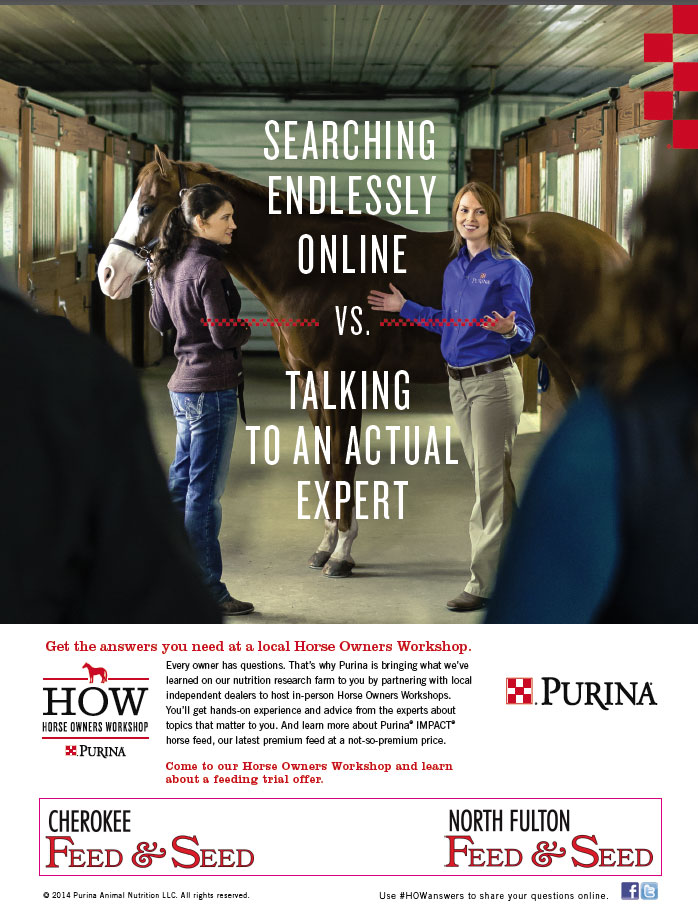 Purina Horse Owner's Workshop