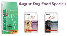 August Dog Food Specials at North Fulton Feed & Seed in Alpharetta, GA