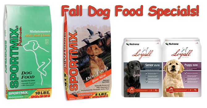 SPORTMix & Loyall Dog Food Sale