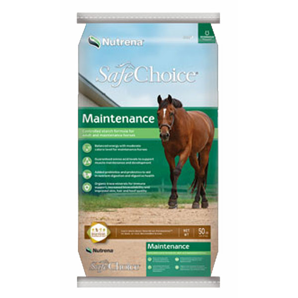 Nutrena SafeChoice Maintenance Horse Feed