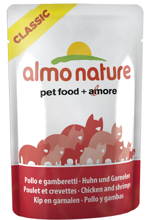 Almo Nature Cat Food in Pouch