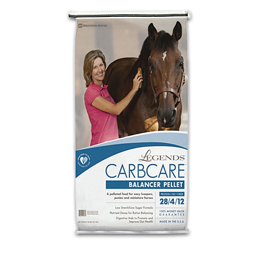Legends CarbCare Horse Feed is available at North Fulton Feed & Seed in Alpharetta, GA