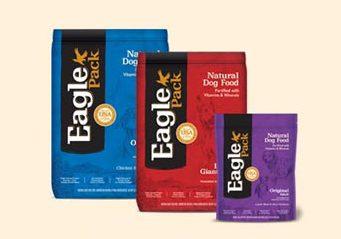 Eagle Pack Dog Food bags