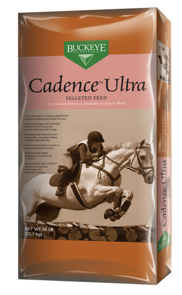 BUCKEYE Cadence Ultra Pelleted Horse Feed