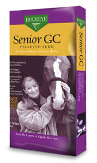 Buckey Senior GC Pelleted Horse Feed- North Fulton Feed & Seed - Alpharetta, GA