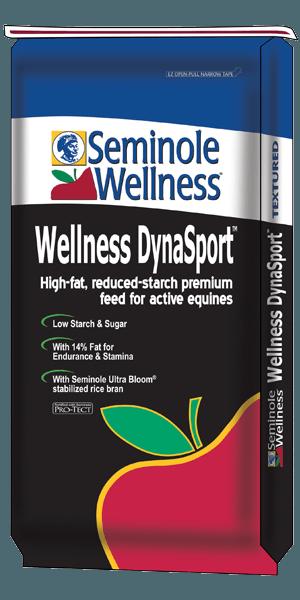 Seminole Wellness DynaSport horse feed