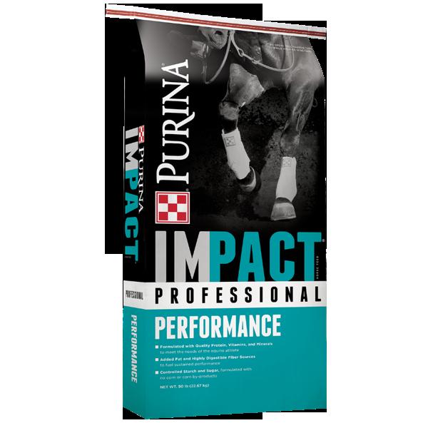 Purina IMPACT Professional Performance horse feed - North Fulton Feed & Seed