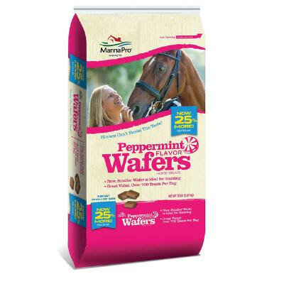Apple & Peppermint Wafers Horse Treats