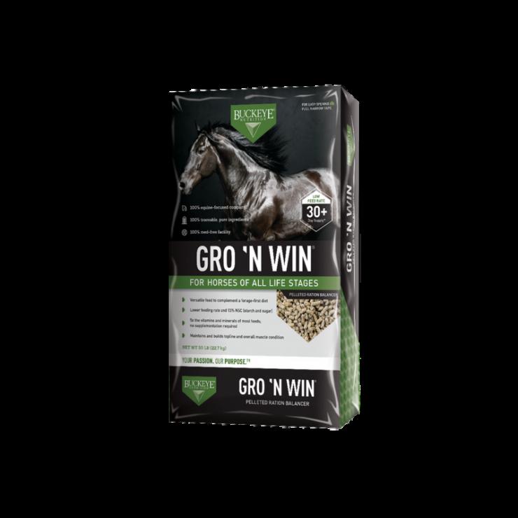 BUCKEYEGro N Win Horse Feed