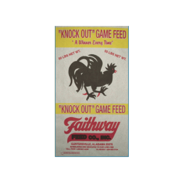 Pride & Pleasure Knockout Poultry Feed