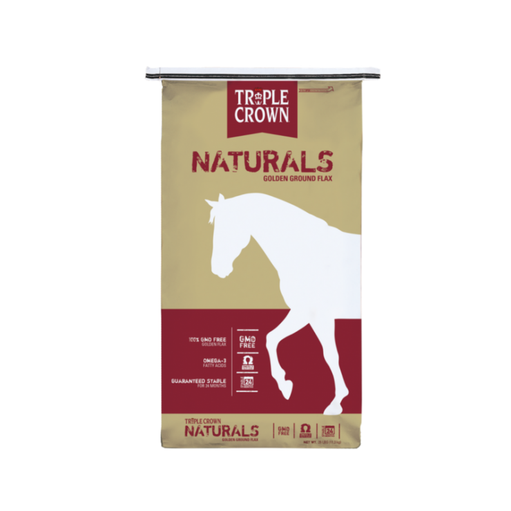 Triple Crown Feed Naturals Golden Ground Flax