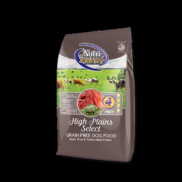 NutriSource High Plains Select Grain Free Dog Food
