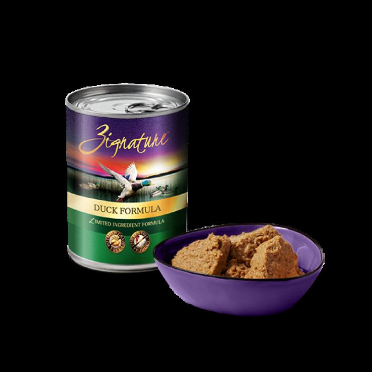 Zignature Canned Duck Formula