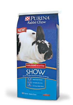 Purina Rabbit Chow Show Wholesome AdvantEdge
