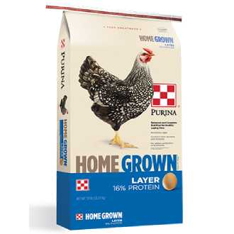 Purina® Home Grown® Layer Pellets or Crumbles