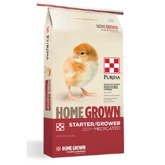 Purina® Home Grown™ Starter/Grower Medicated
