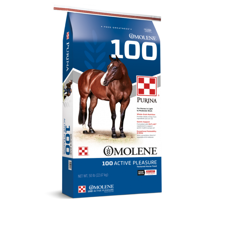 Purina Omolene #100 Active Pleasure Horse Feed