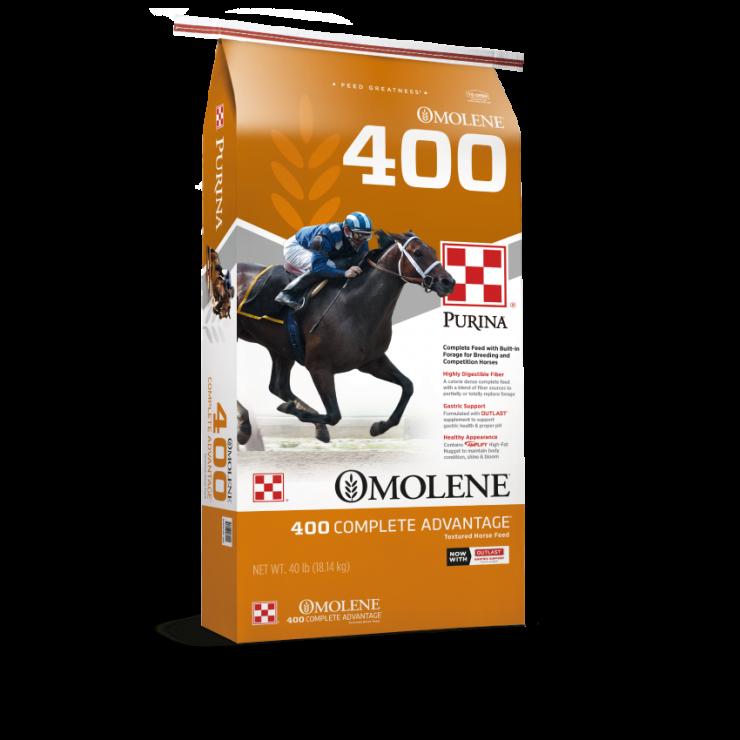 Omolene #400 Complete Advantage Horse Feed