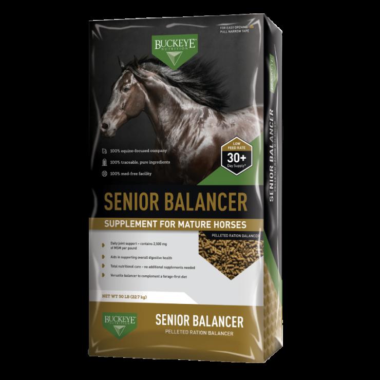 Buckeye Senior Balancer Pelleted Supplement