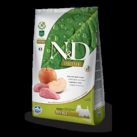 Farmina N&D Wild Boar and Apple Adult Mini Recipe