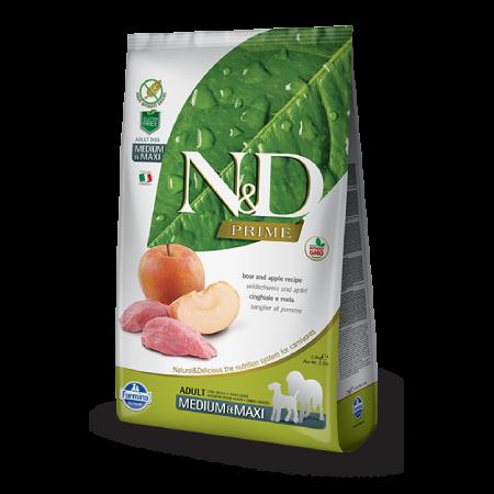 N&D Wild Boar and Apple Adult Medium & Maxi Recipe