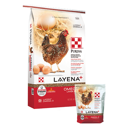 Purina Layena Plus Omega-3