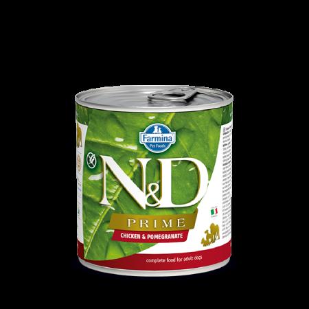 Farmina N&D Prime Dog Chicken & Pomegranate Recipe