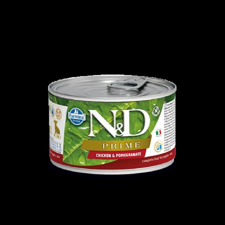 Farmina N&D Prime Canine Chicken & Pomegranate Puppy Mini Wet Food