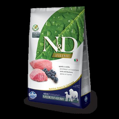Farmina N&D Lamb and Blueberry Adult Medium & Maxi Recipe