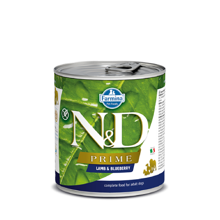 N&D Prime Dog Lamb & Blueberry Recipe