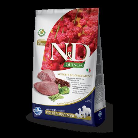 Farmina N&D Quinoa Weight Management With Lamb